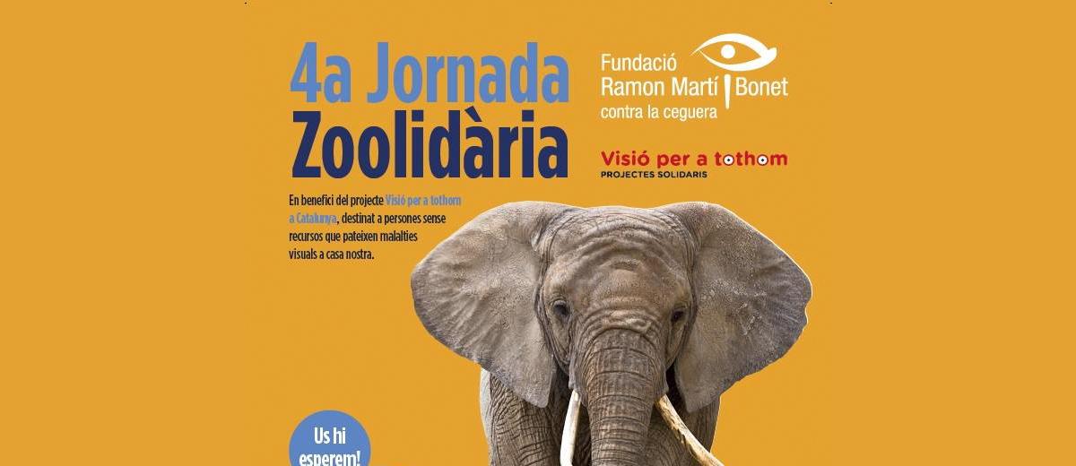 4ta Jornada Solidària de la Fundació Ramon Martí i Bonet contra le ceguera al zoo de Barcelona