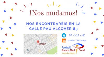 La fundación Ramon Martí i Bonet contra la ceguera se traslada